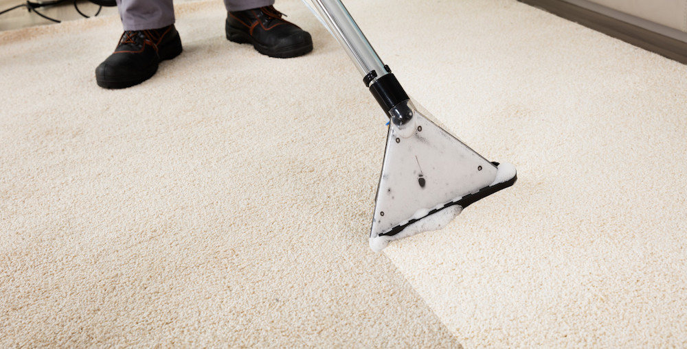 commercial carpet cleaning machine in Fort Worth, TX